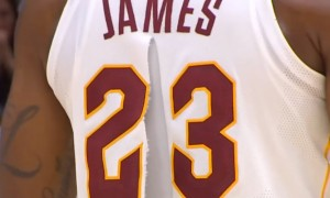 LeBron James maillot Nike