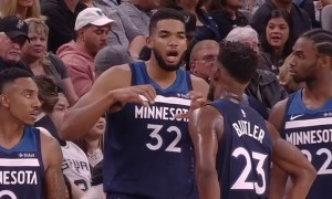 Wolves Karl-Anthony Towns Jeff Teague, Jimmy Butler Andrew Wiggins