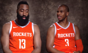 Chris Paul james harden rockets
