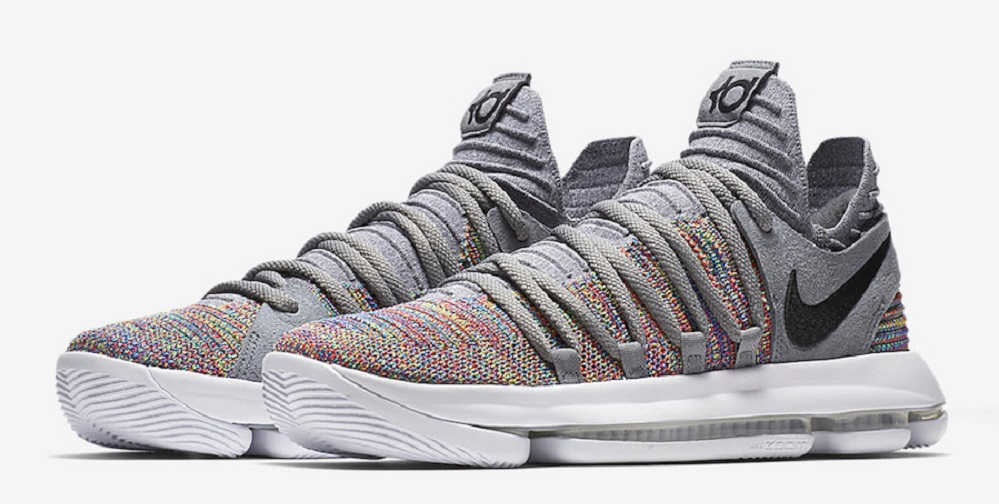 Nike KD 10 Multi-Color