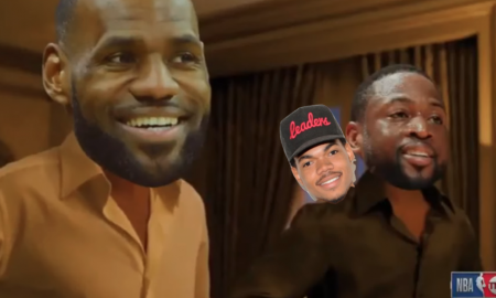 LeBron James Dwyane Wade Chance The Rapper