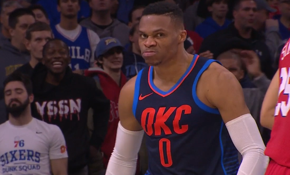 Russell Westbrook all,star game