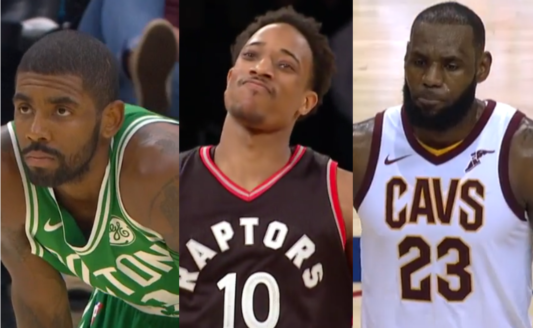 Cavs celtics raptors