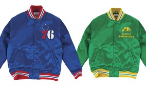 Mitchell And Ness Satin Jacket