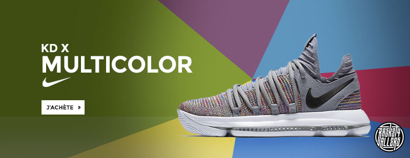 Nike KD 10 multi color