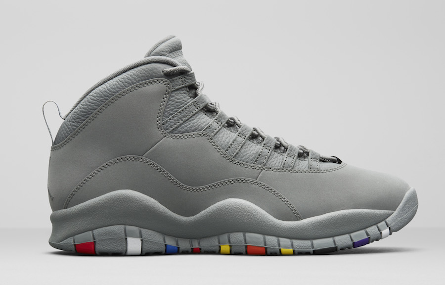 Air Jordan 10 Cool Grey