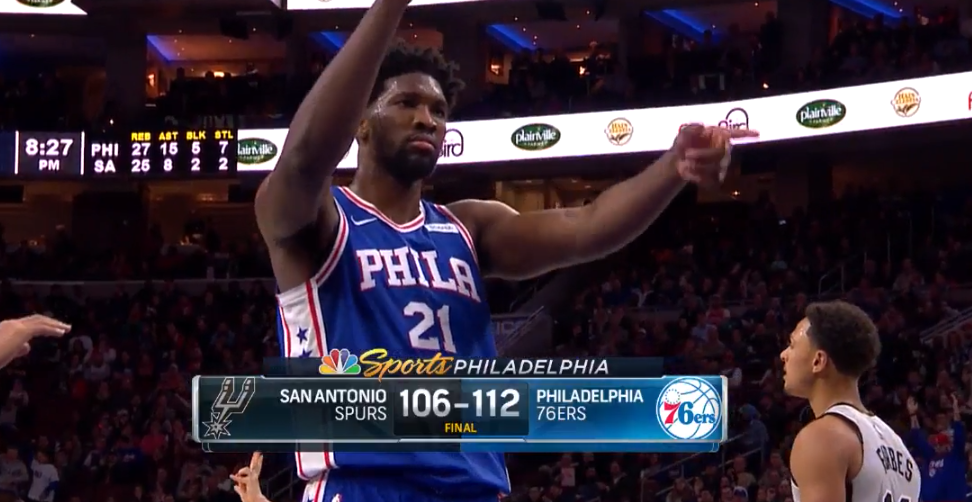 Sixers embiid