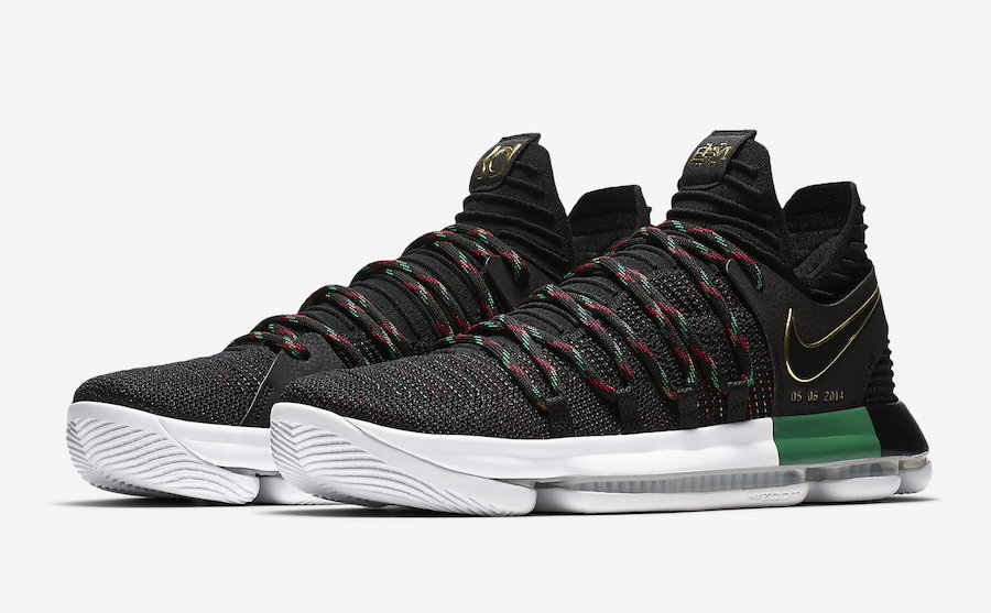"NIKE ZOOM KD 10 LMTD ""BHM"" Black History Month"
