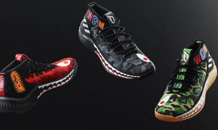BAPE x adidas Dame 4 Collection