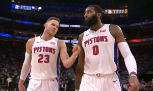 Blake Griffin andre drummond pistons