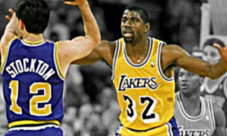 Playoffs revival john stockton magic johnson