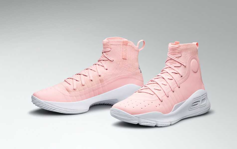 under Armour Curry 4 Flushed Pink