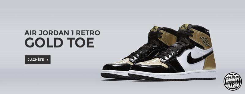 Air Jordan 1 High Retor Gold Toe