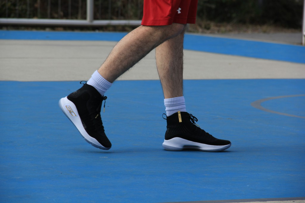 Hoops I test it again Under Armour Curry 4