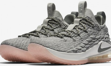 Nike LeBron 15 Low Light Bone Dark Stucco