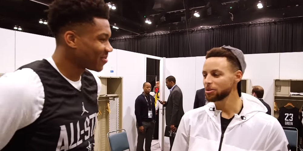 Stephen Curry Giannis Antetokounmpo