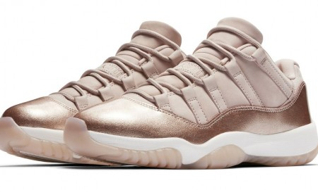 Air Jordan 11 Low GS Rose Gold