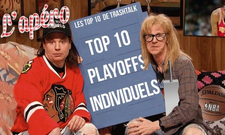 Top 10 Playoffs campagnes individuelles