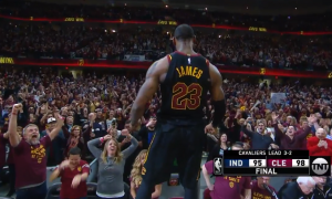 LeBron James pari