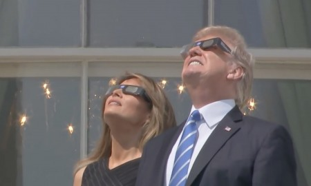 Donald Trump Solar Eclipse