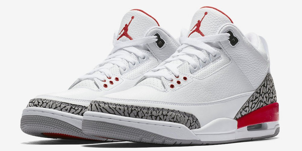 en soldes 59a91 9b025 Air Jordan 3 Hall Of Fame : la version Katrina change de nom ...