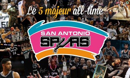 5 Majeur All-Time - Spurs