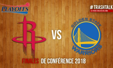 Playoffs 2018 - Rockets - Warriors