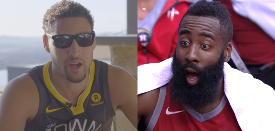 James Harden / Kmay Thompson