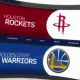 golden state warriors, houston rockets