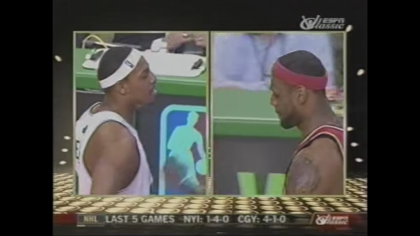 LeBron James Paul Pierce