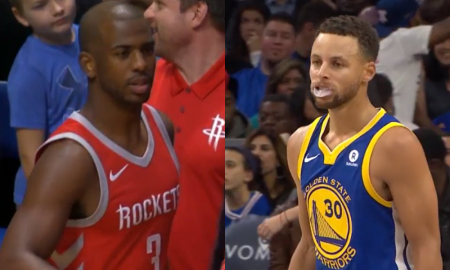 Stephen Curry vs Chris Paul