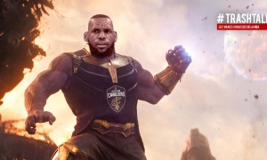 LeBron James Thanos pari