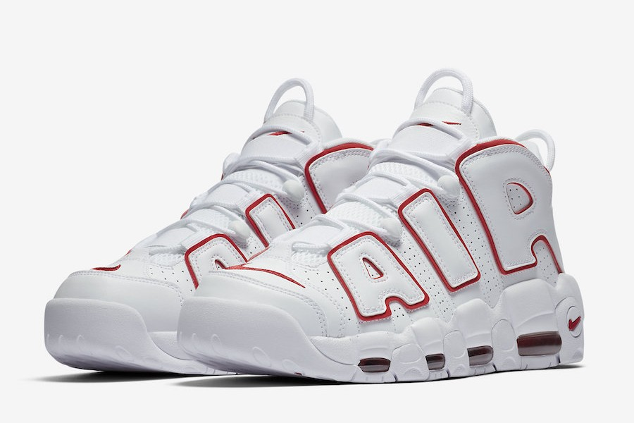 air more uptempo blanc rouge