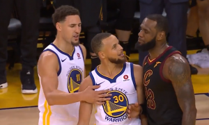 Warriors - Cavs - LeBron James, Stephen Curry