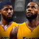 LeBron James paul george