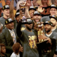 LeBron James champion avec les Cavs