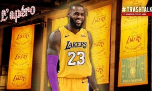 LeBron James Lakers Apéro TrashTalk