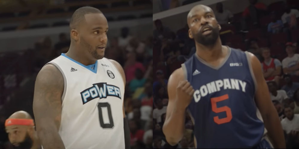 Glen Davis Baron Davis BIG3 League