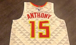 Hawks Carmelo Anthony