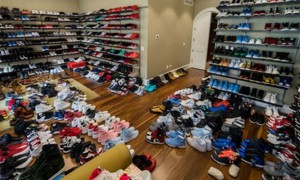 Jimmy Butler sneakers room