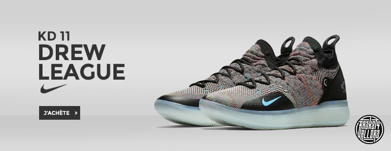 los angeles 47610 66a09 ... Nike KD 11 Multicolor Drew League