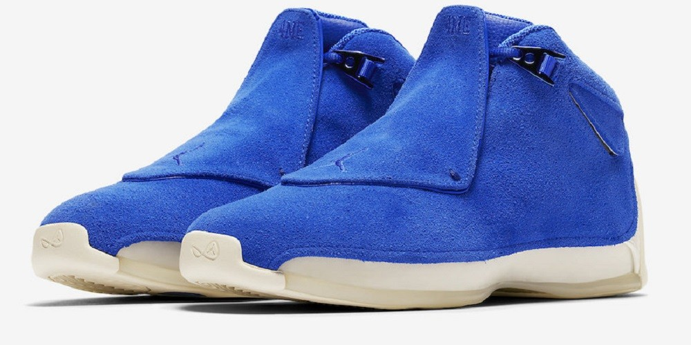 Air Jordan 18 Retro Suede Pack