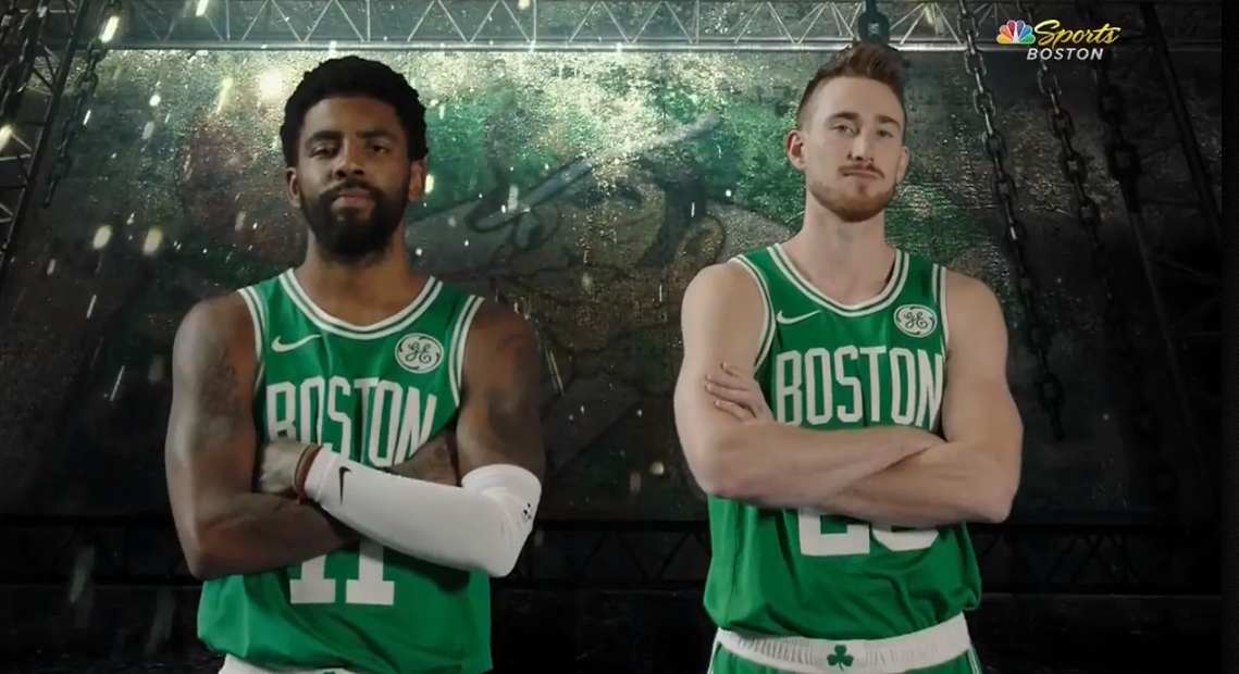 Gordon Hayward kyrie irving boston celtics
