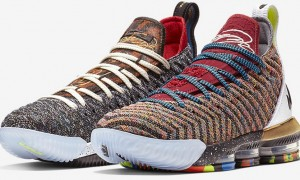 Nike LeBron 16 What The 1 Thru 5