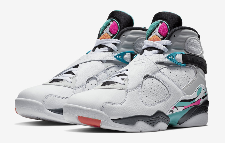 Air Jordan 8 Spurs Retro South Beach