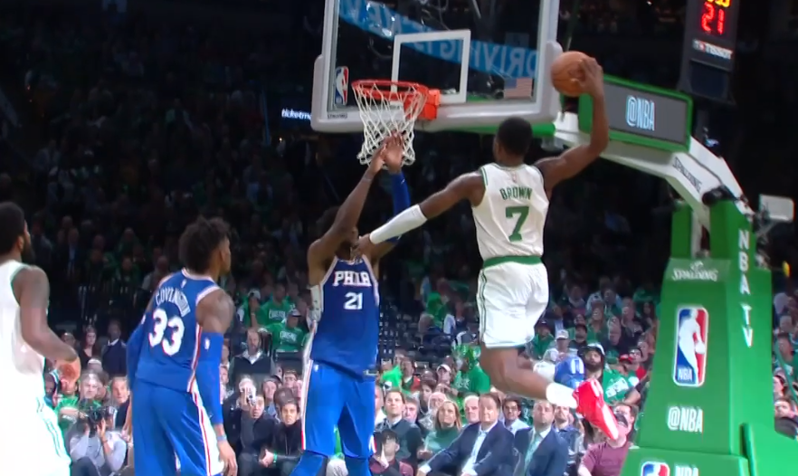 Jaylen Brown celtics sixers