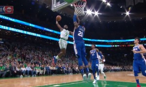 Jaylen Brown Celtics Joel Embiid