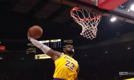 LeBron James dunk Lakers Top 5