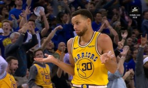Stephen Curry shrug