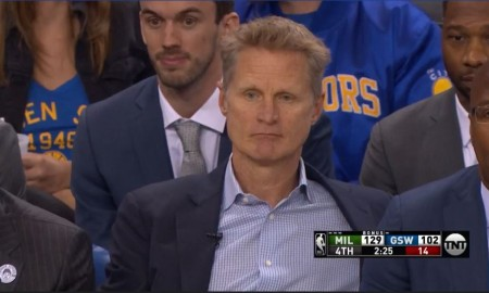 Warriors - Bucks - Steve Kerr